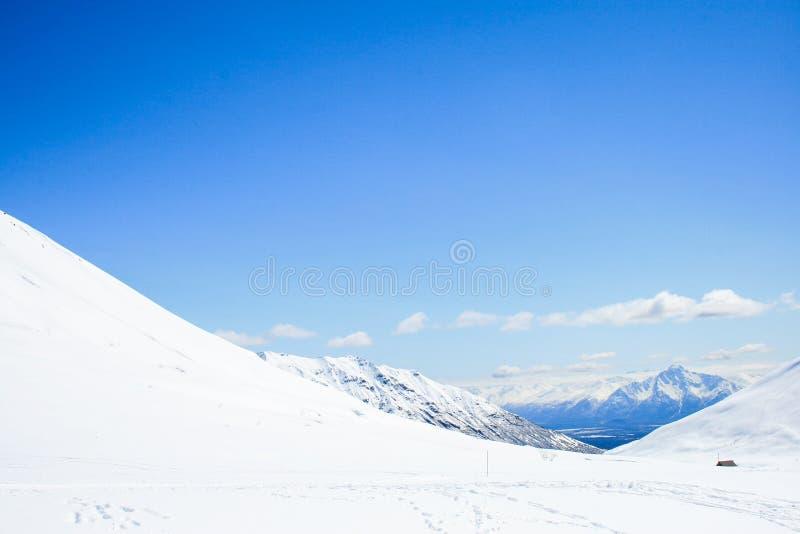 Βουνά του περάσματος Hatcher στοκ εικόνες