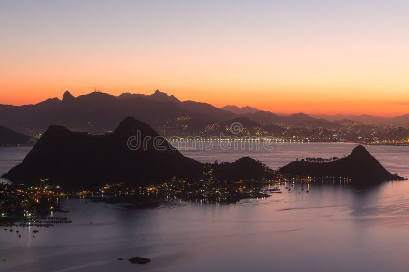 Βουνά του Ρίο ντε Τζανέιρο, Βραζιλία στοκ εικόνες με δικαίωμα ελεύθερης χρήσης