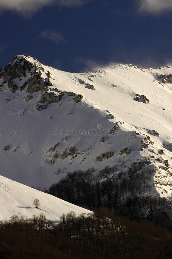 Download Βουνά 03 στοκ εικόνα. εικόνα από ουρανός, βράχος, κολόβωμα - 63853