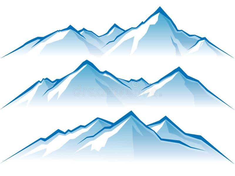 βουνά ελεύθερη απεικόνιση δικαιώματος