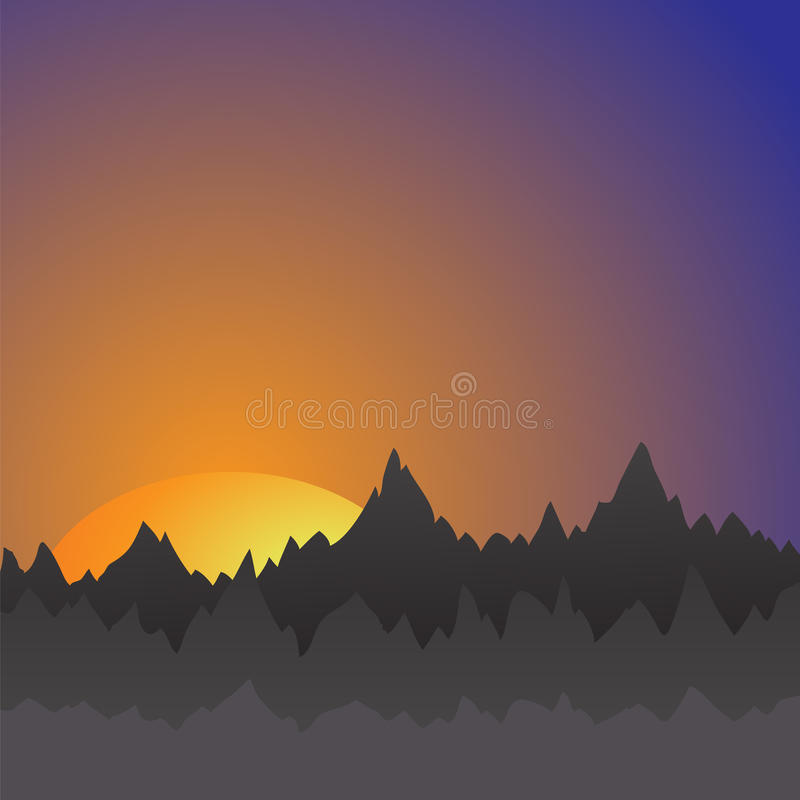 Βουνά απεικόνιση αποθεμάτων