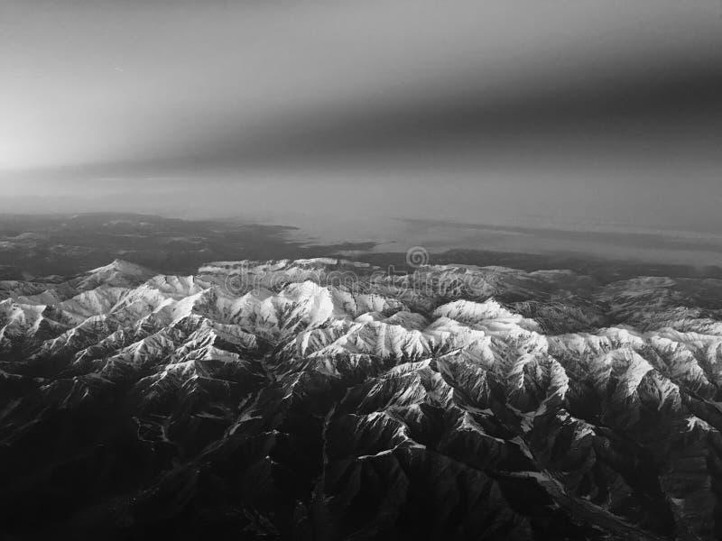 Βουνά Caucuses στοκ εικόνες