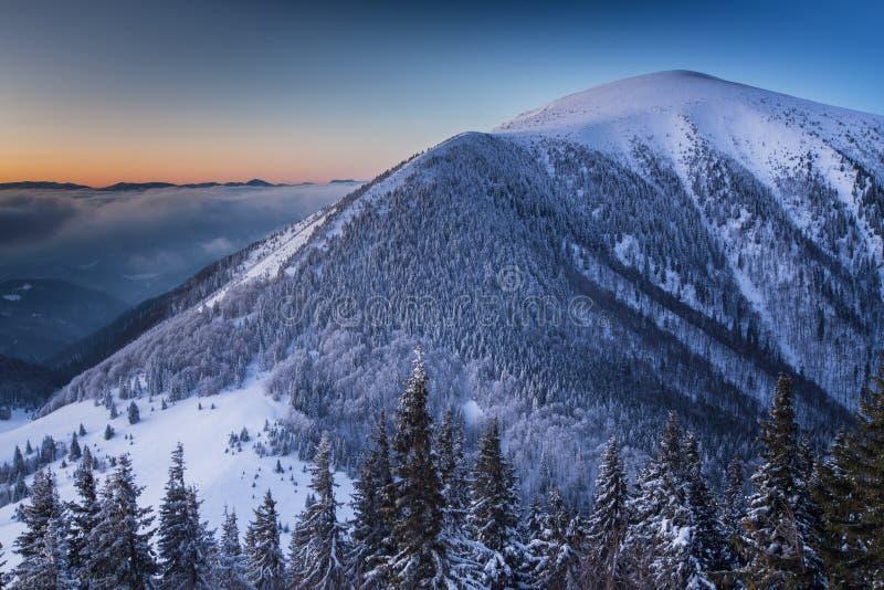 Βουνά Fatra Mala στοκ φωτογραφία με δικαίωμα ελεύθερης χρήσης