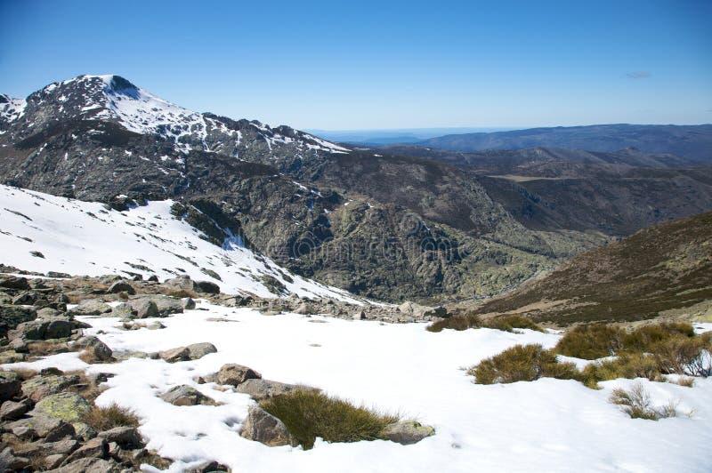 Βουνά Gredos στοκ φωτογραφία