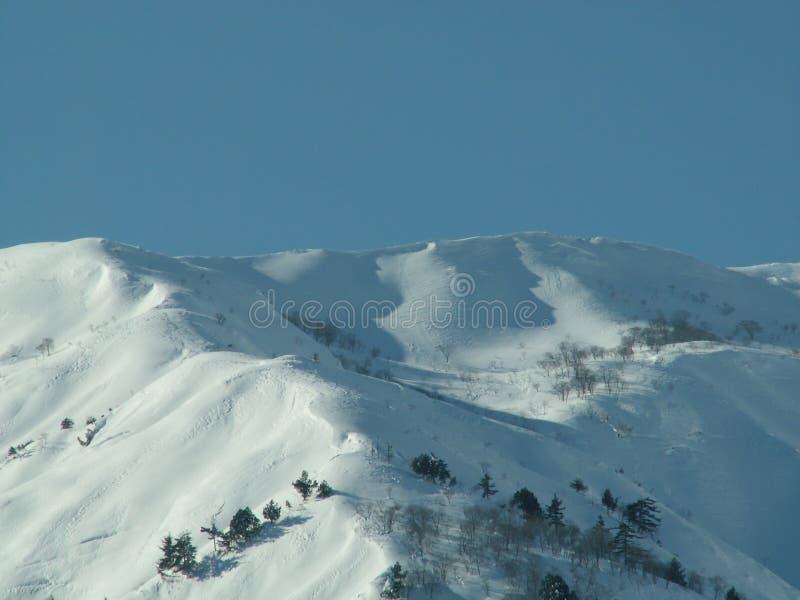 βουνά hakuba στοκ εικόνες