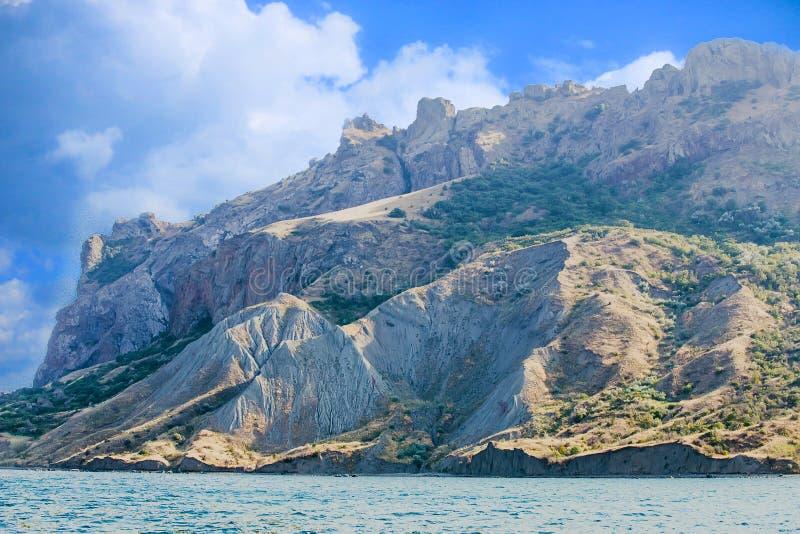 Βουνά Karadag της Κριμαίας στοκ εικόνες με δικαίωμα ελεύθερης χρήσης