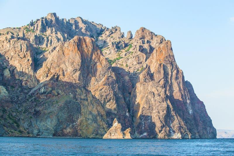 Βουνά Karadag της Κριμαίας στοκ φωτογραφία με δικαίωμα ελεύθερης χρήσης