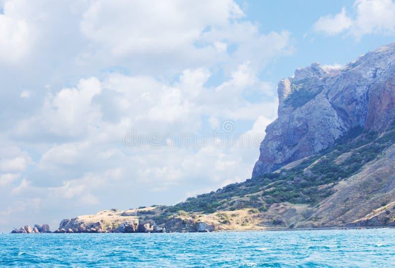 Βουνά Karadag της Κριμαίας στοκ φωτογραφία