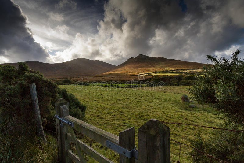 Βουνά Mourne, Βόρεια Ιρλανδία στοκ φωτογραφία με δικαίωμα ελεύθερης χρήσης
