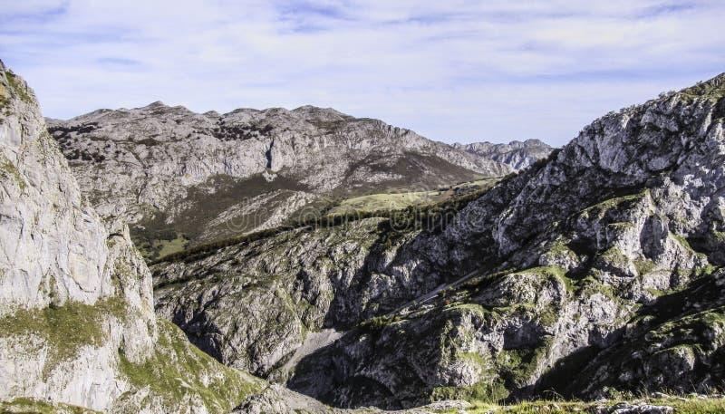 Βουνά Picos de Ευρώπη, αστουρίες, Ισπανία στοκ φωτογραφίες με δικαίωμα ελεύθερης χρήσης