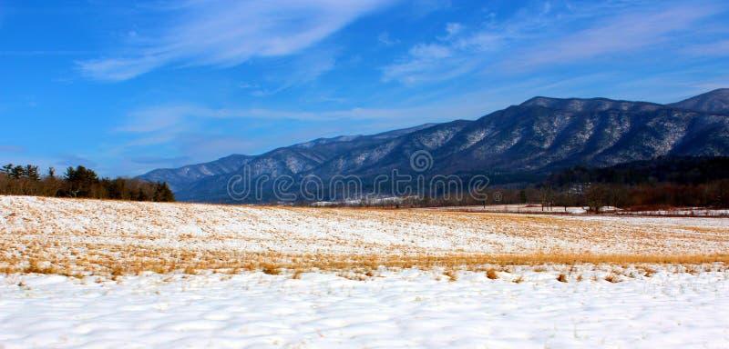 Βουνά Smokey στοκ εικόνα
