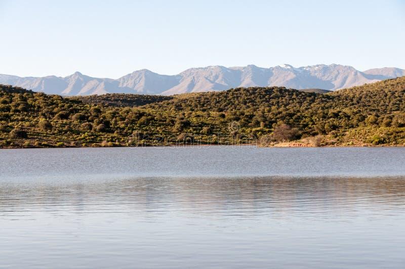 Βουνά Swartberg στοκ εικόνα