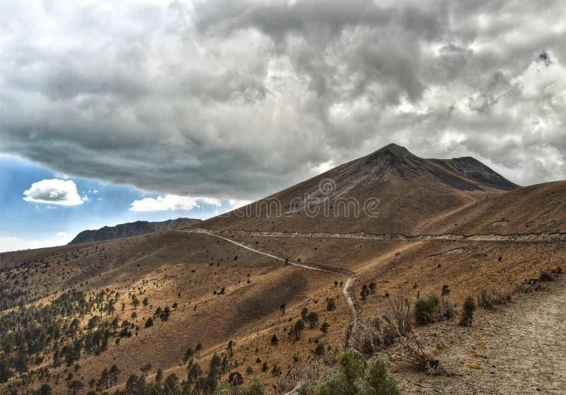 Βουνά Toluca εθνικό park nevado de toluca στοκ εικόνα με δικαίωμα ελεύθερης χρήσης