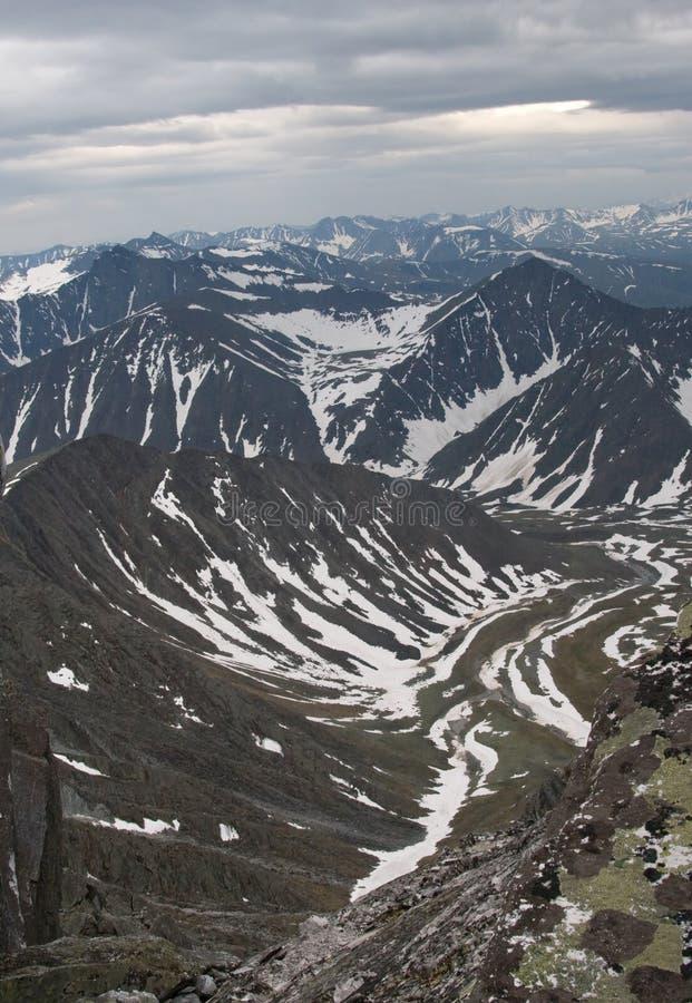 βουνά ural στοκ φωτογραφία