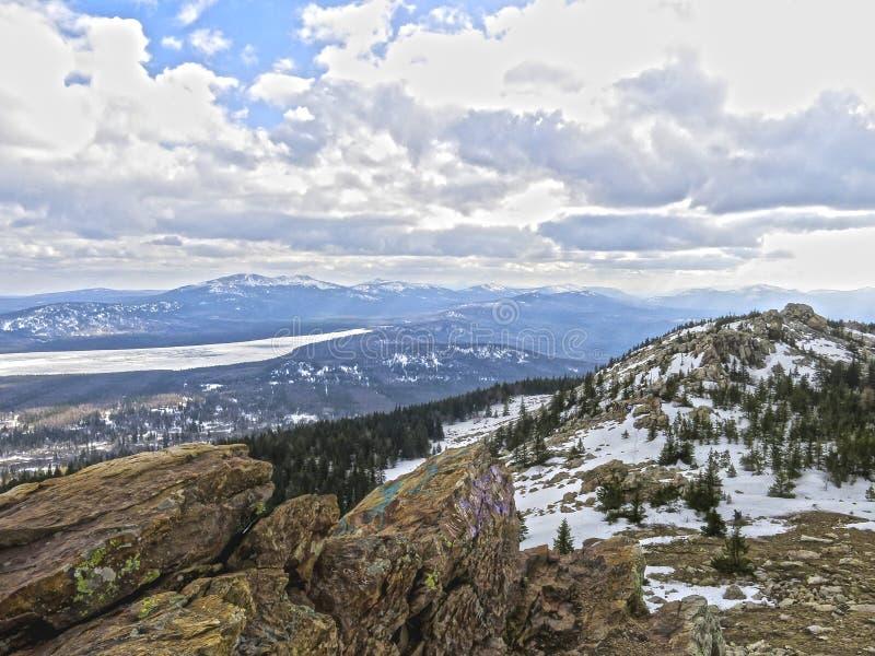 βουνά ural στοκ εικόνα