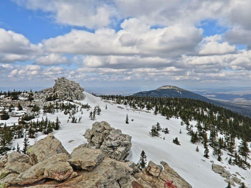 βουνά ural στοκ εικόνα με δικαίωμα ελεύθερης χρήσης