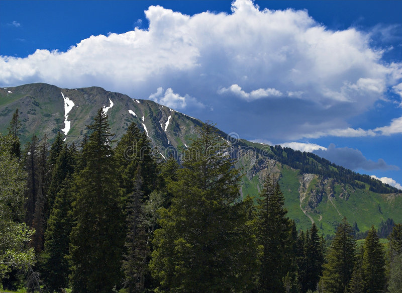 βουνά Utah στοκ εικόνες