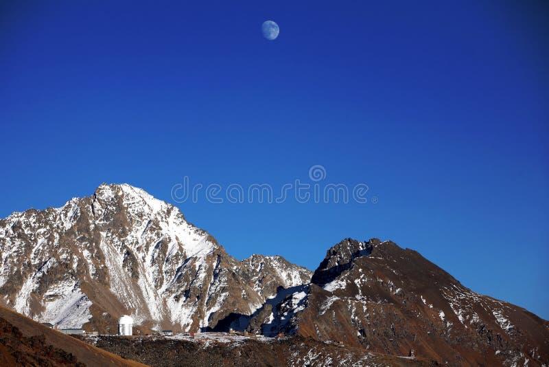 βουνό βραδιού elbrus στοκ εικόνα