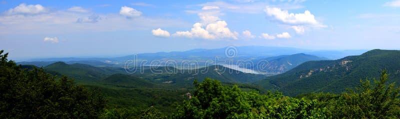 Βουνό Δούναβης Ουγγαρία επαρχίας στοκ φωτογραφίες με δικαίωμα ελεύθερης χρήσης