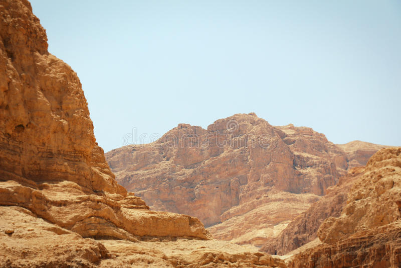 βουνό ερήμων στοκ εικόνες