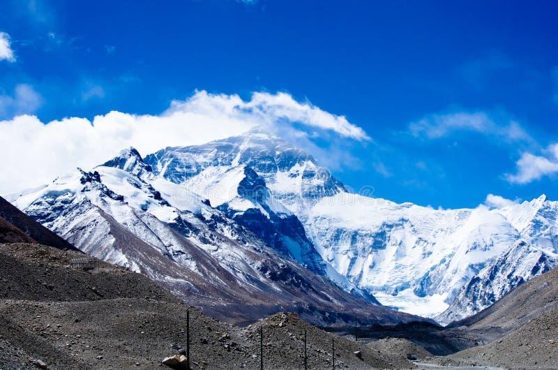 Βουνό Ιμαλάια χιονιού στοκ εικόνες