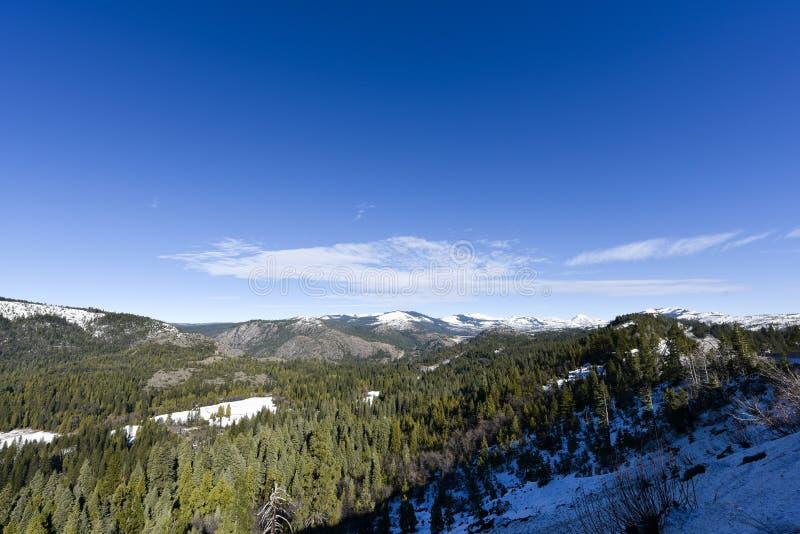 Βουνό και fores στοκ εικόνες