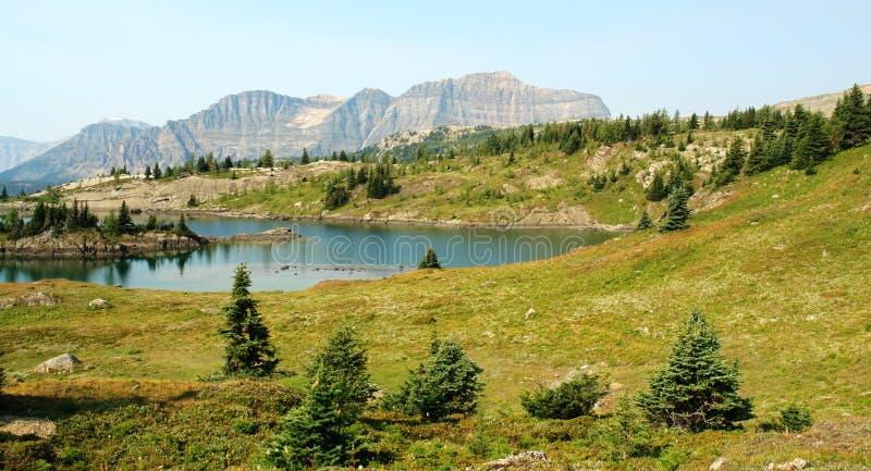 βουνό λιμνών στοκ φωτογραφίες