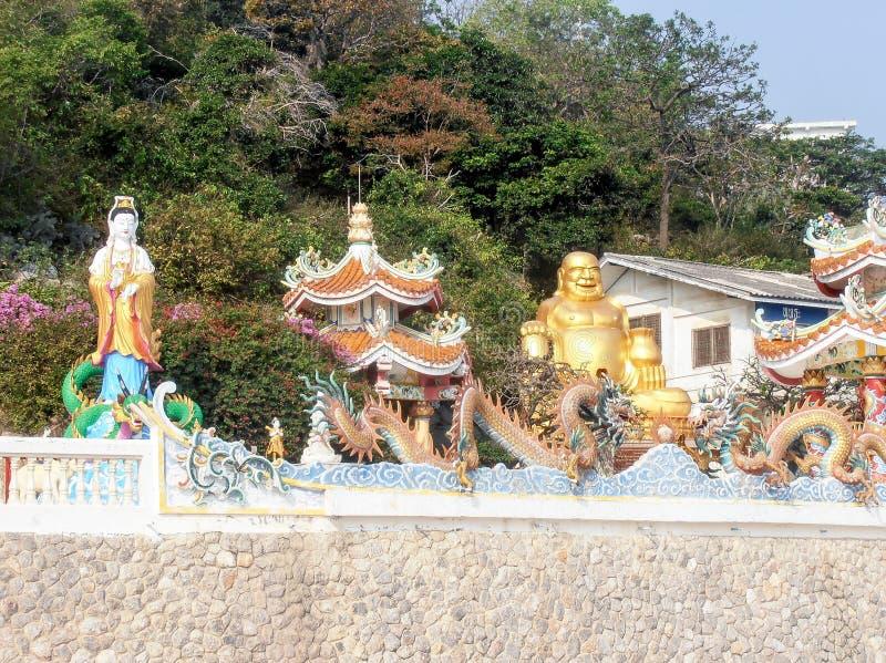 Βουνό πιθήκων στη Hua Hin στοκ φωτογραφίες