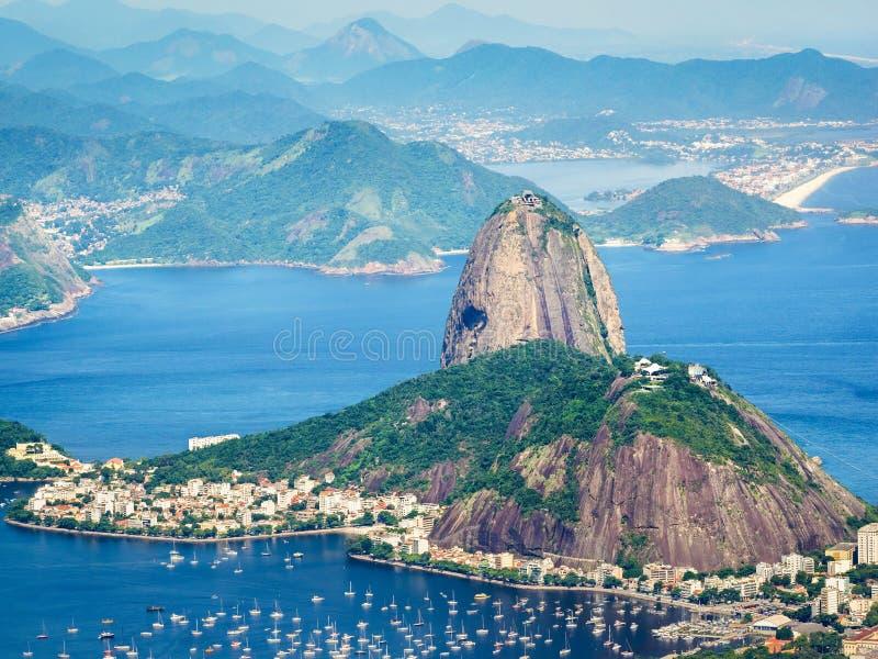 βουνό Ρίο της Βραζιλίας de janeiro sugarloaf στοκ φωτογραφία