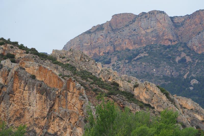 Βουνό στην οροσειρά del montseny στοκ εικόνα με δικαίωμα ελεύθερης χρήσης