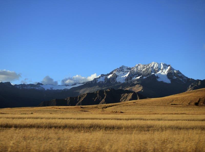 Βουνό στο Περού στοκ φωτογραφίες με δικαίωμα ελεύθερης χρήσης