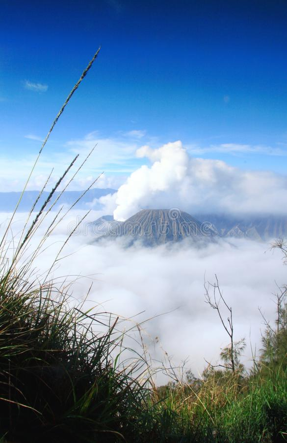 βουνό της Ινδονησίας Μαλά&n στοκ εικόνες