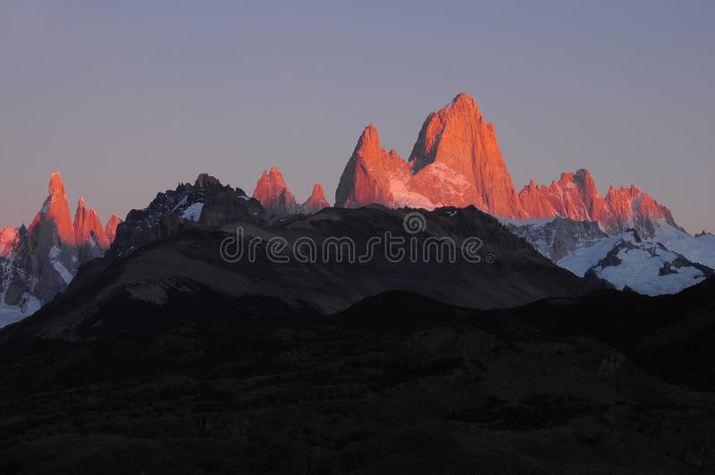 Βουνό της Fitz Roy. στοκ εικόνες