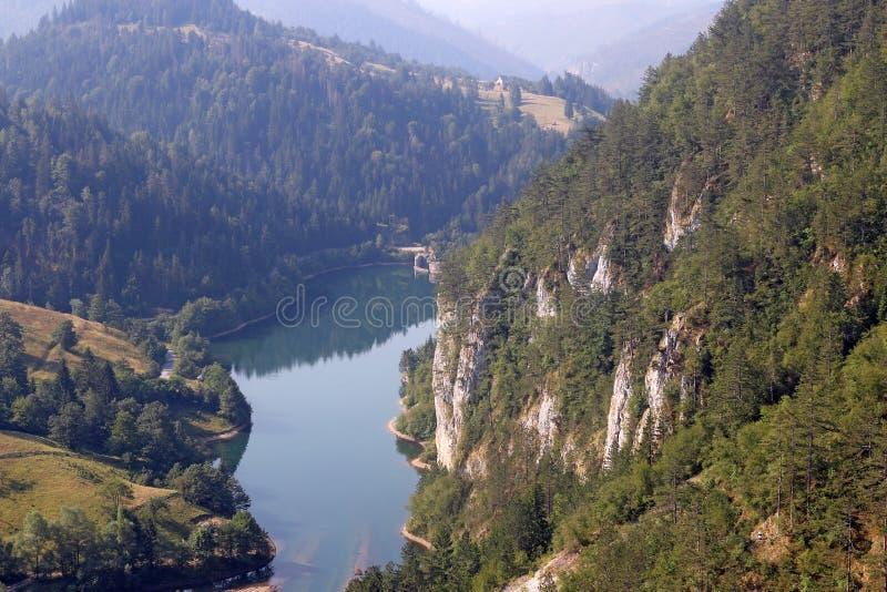 Βουνό της Tara λιμνών Spajici στοκ εικόνες