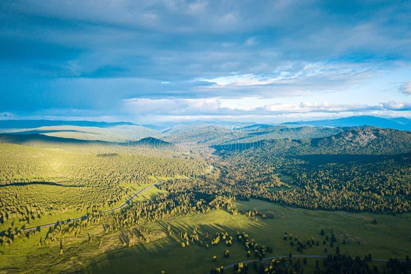 Βουνό τοπίων φθινοπώρου στοκ φωτογραφίες με δικαίωμα ελεύθερης χρήσης