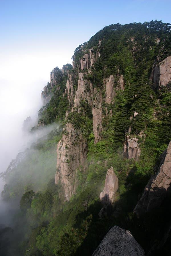 βουνό 5 Κίνας κίτρινο στοκ εικόνες με δικαίωμα ελεύθερης χρήσης