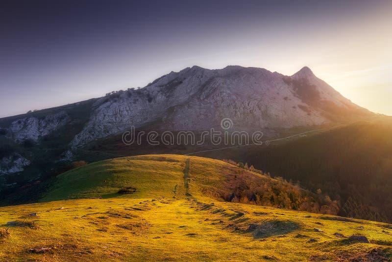 Βουνό Anboto στοκ φωτογραφία με δικαίωμα ελεύθερης χρήσης