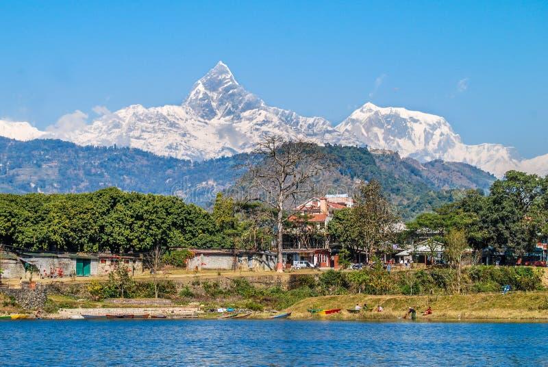 Βουνό Annapurna στοκ εικόνες με δικαίωμα ελεύθερης χρήσης