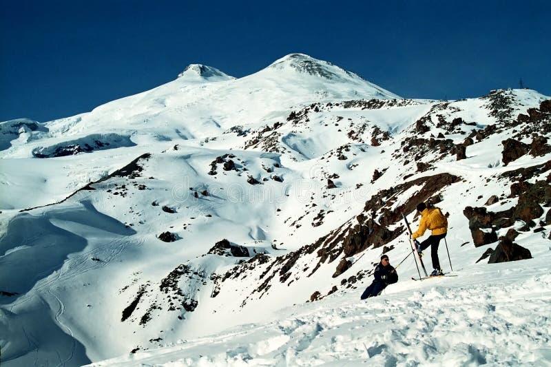 βουνό elbrus στοκ εικόνα