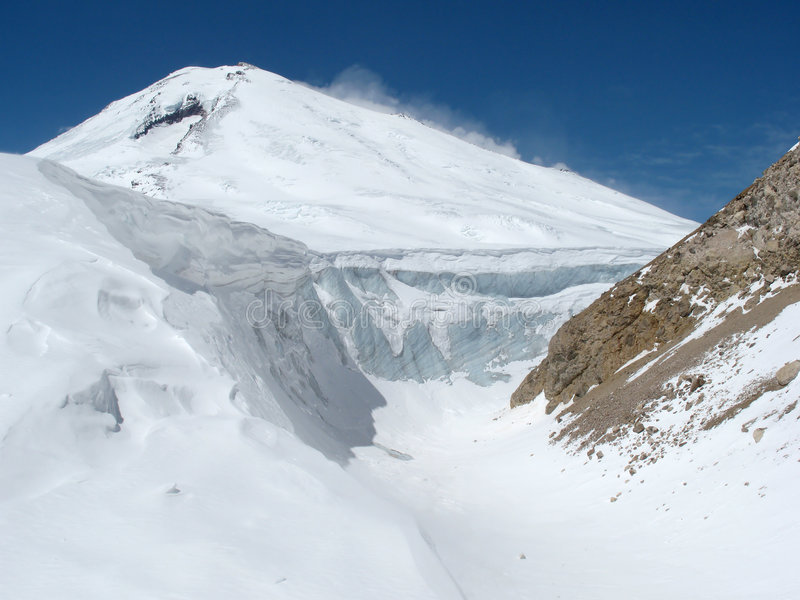βουνό elbrus στοκ φωτογραφίες