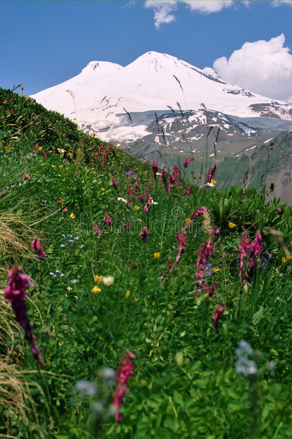 βουνό elbrus στοκ εικόνες