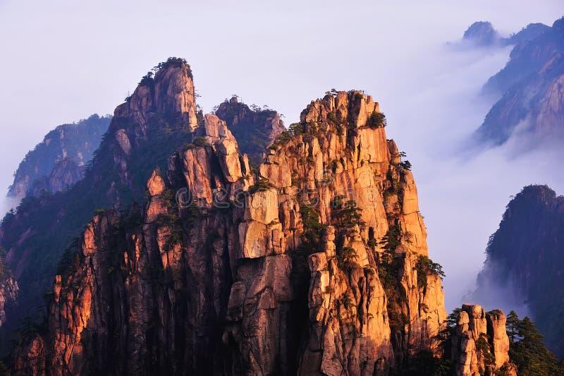 Βουνό Huangshan στοκ εικόνα με δικαίωμα ελεύθερης χρήσης