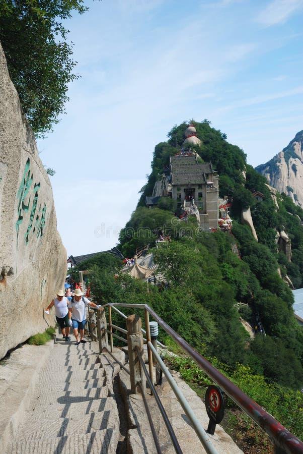 Βουνό Huashan στοκ εικόνες με δικαίωμα ελεύθερης χρήσης
