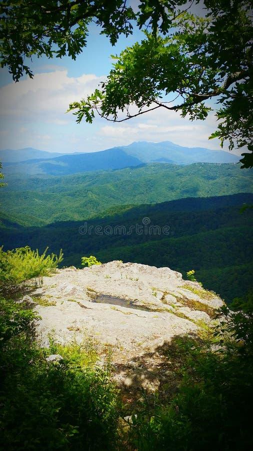 Βουνό Humpback κοντά σε Boone NC στοκ φωτογραφίες