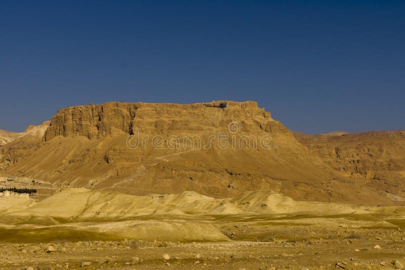 Βουνό Masada στοκ εικόνα