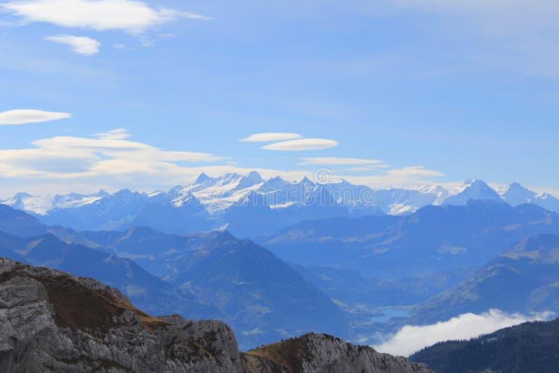 Βουνό Pilatus στοκ φωτογραφίες