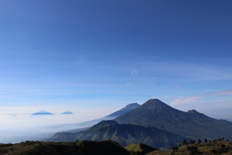Βουνό Prau στοκ φωτογραφίες
