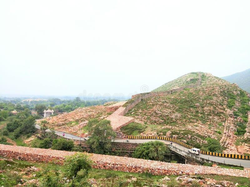 Βουνό Rajgir στοκ φωτογραφία με δικαίωμα ελεύθερης χρήσης