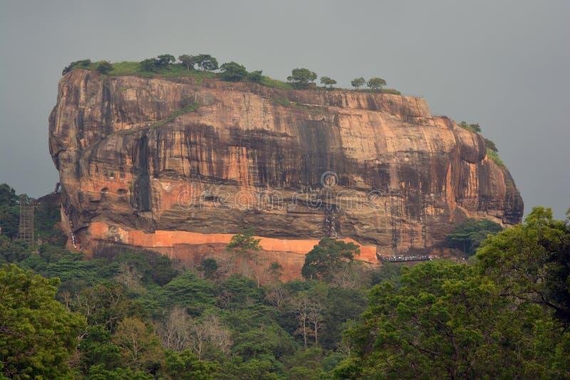 Βουνό Sigiriya στοκ φωτογραφία με δικαίωμα ελεύθερης χρήσης