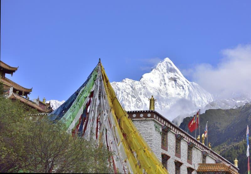 Βουνό Siguniang (βουνό τεσσάρων κοριτσιών) στοκ φωτογραφίες με δικαίωμα ελεύθερης χρήσης